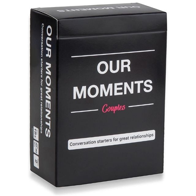 Our Moments Couple's Conversation Starter Cards