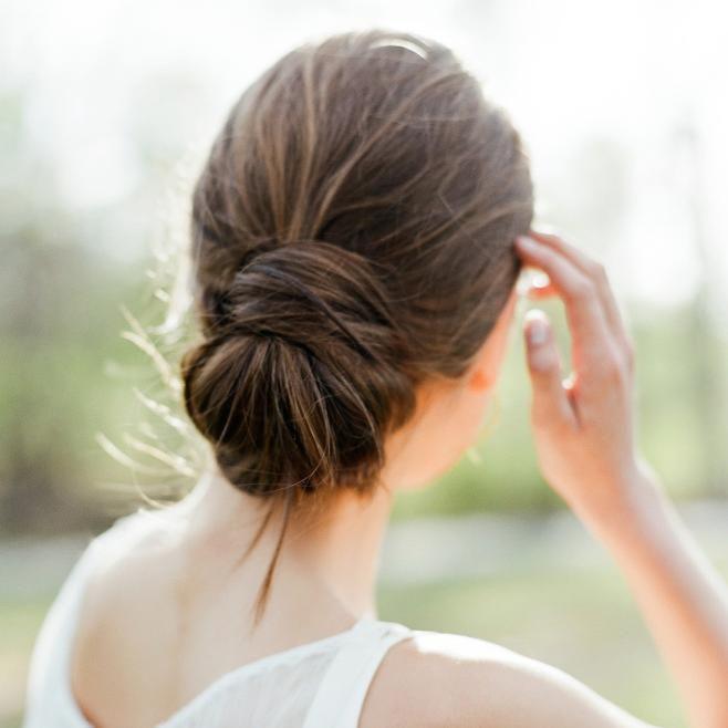 Modern Wedding Hairstyles: Minimalist Wedding Hairstyles For Modern Brides