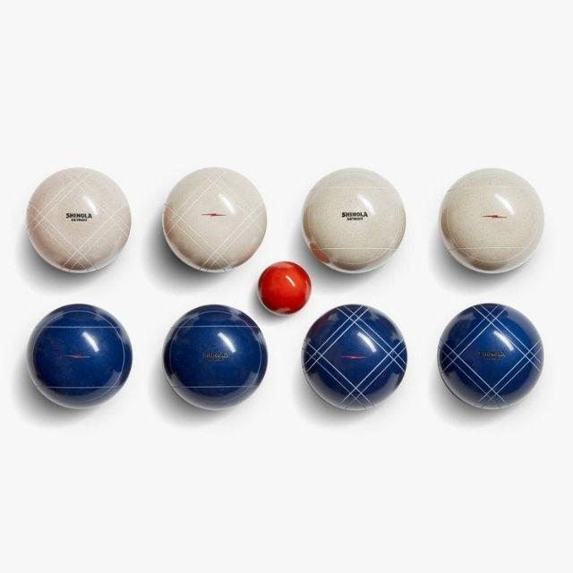 Shinola + St. Pierre Bocce Ball Set