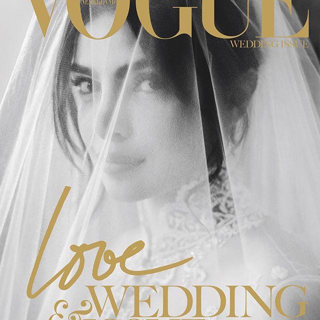 Vogue Netherlands cover of Priyanka Chopra