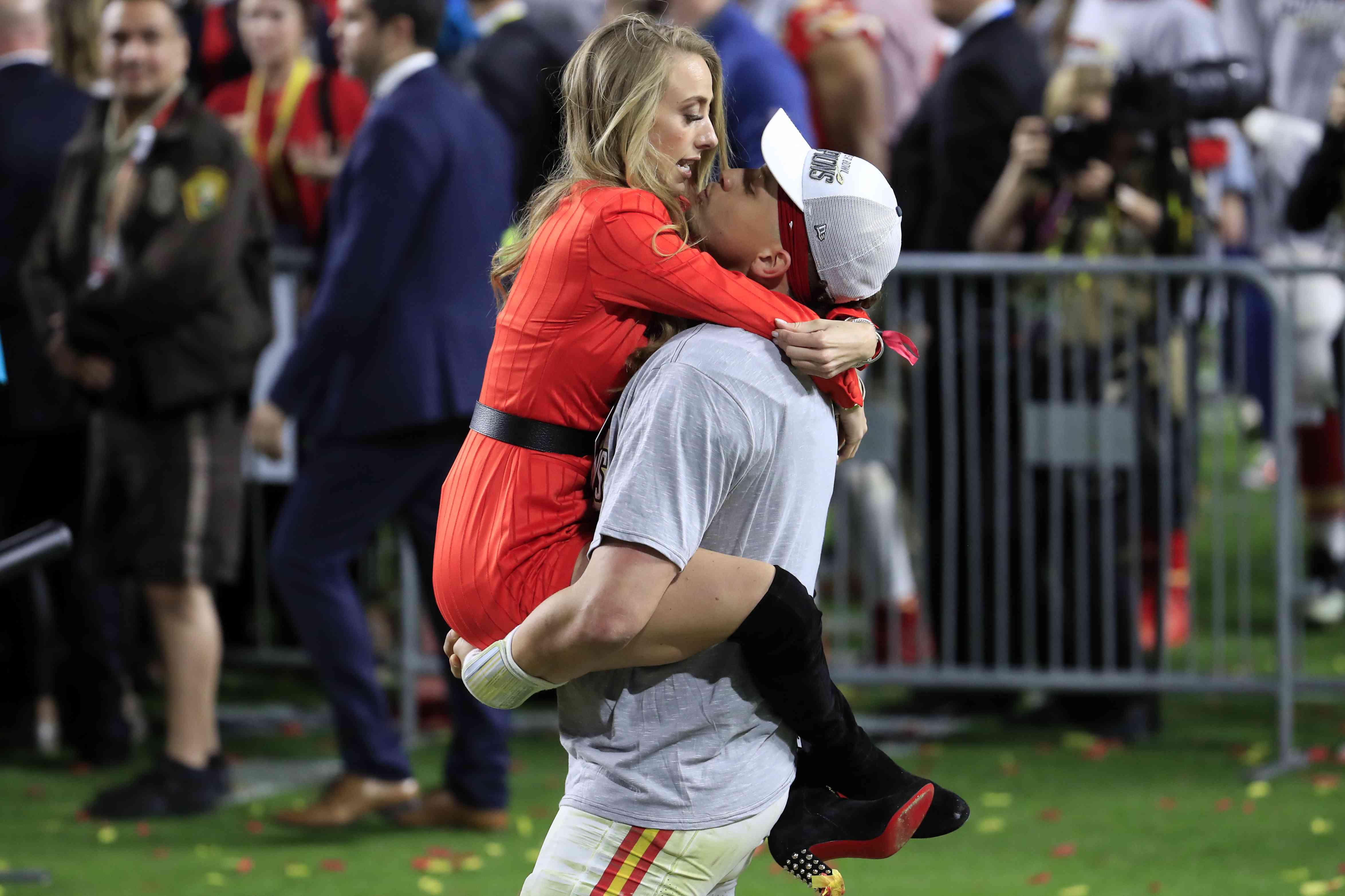 Patrick Mahomes and Brittany Matthews baby