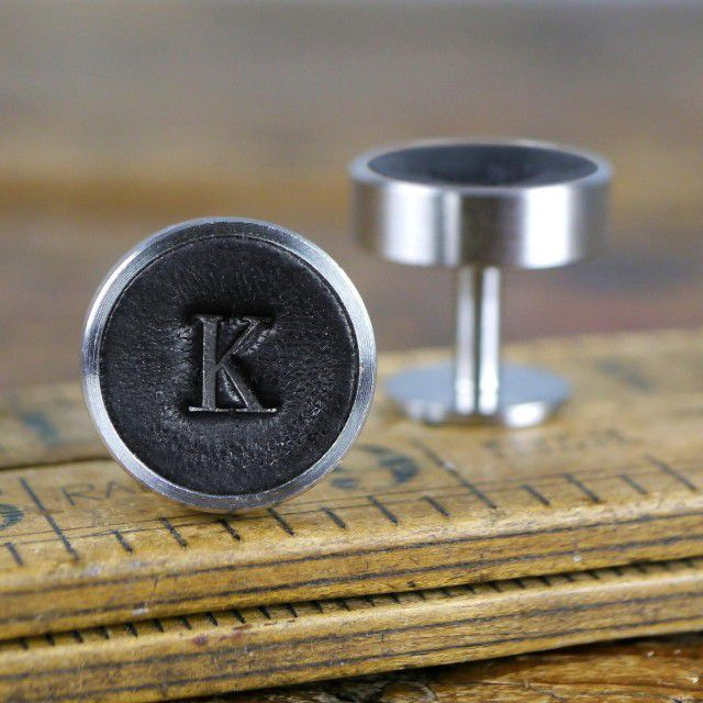 Personalized Leather Cuff Links