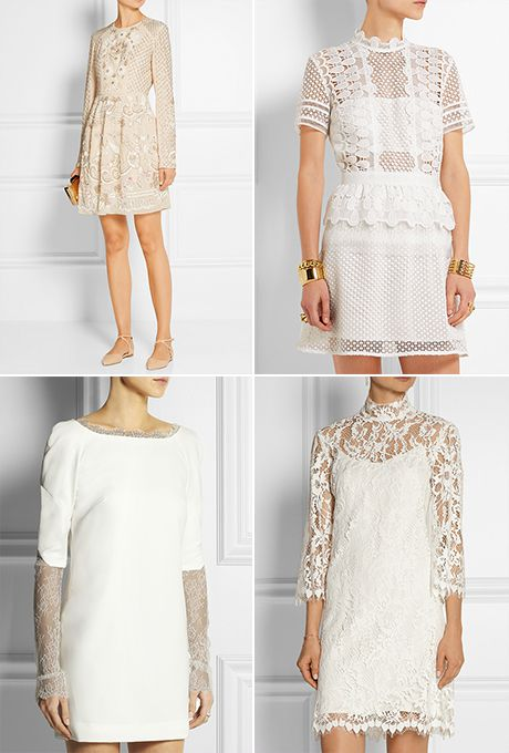 Courthouse Wedding Dress.17 Short Wedding Dresses You Can Buy Now For Your Courthouse Wedding