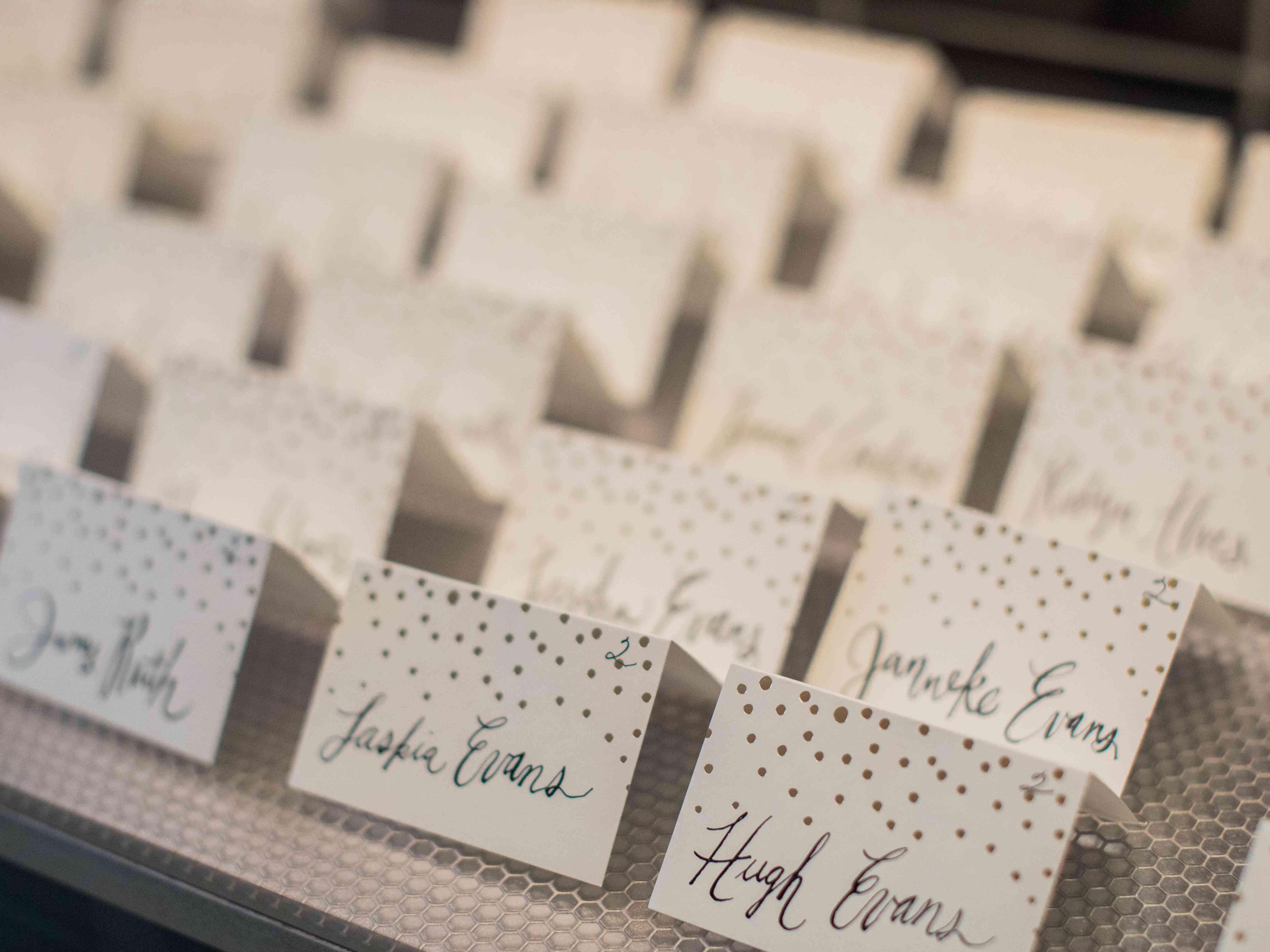 Wedding Name Tags