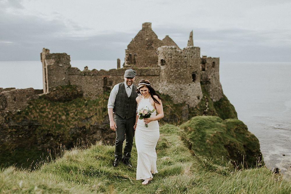dunluce castle elopement ireland