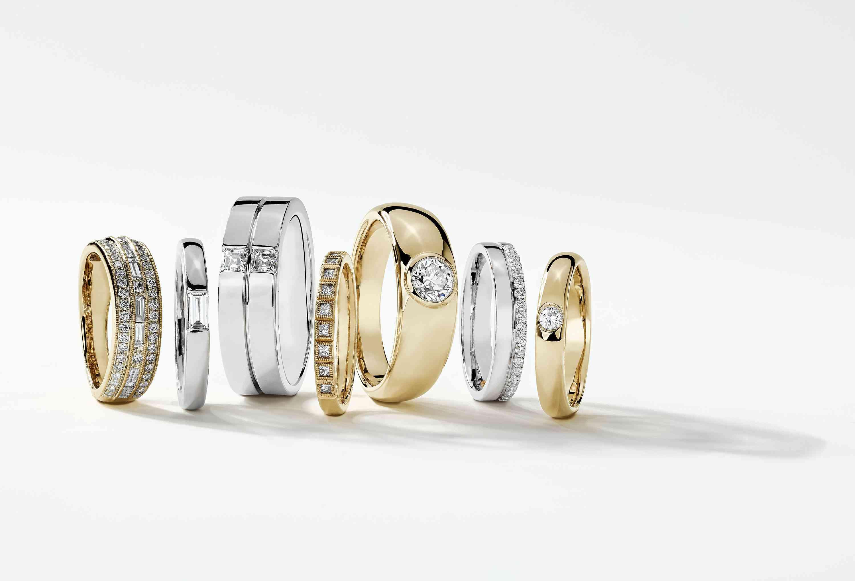 Zac Posen and Blue Nile Unisex Engagement and Wedding Rings