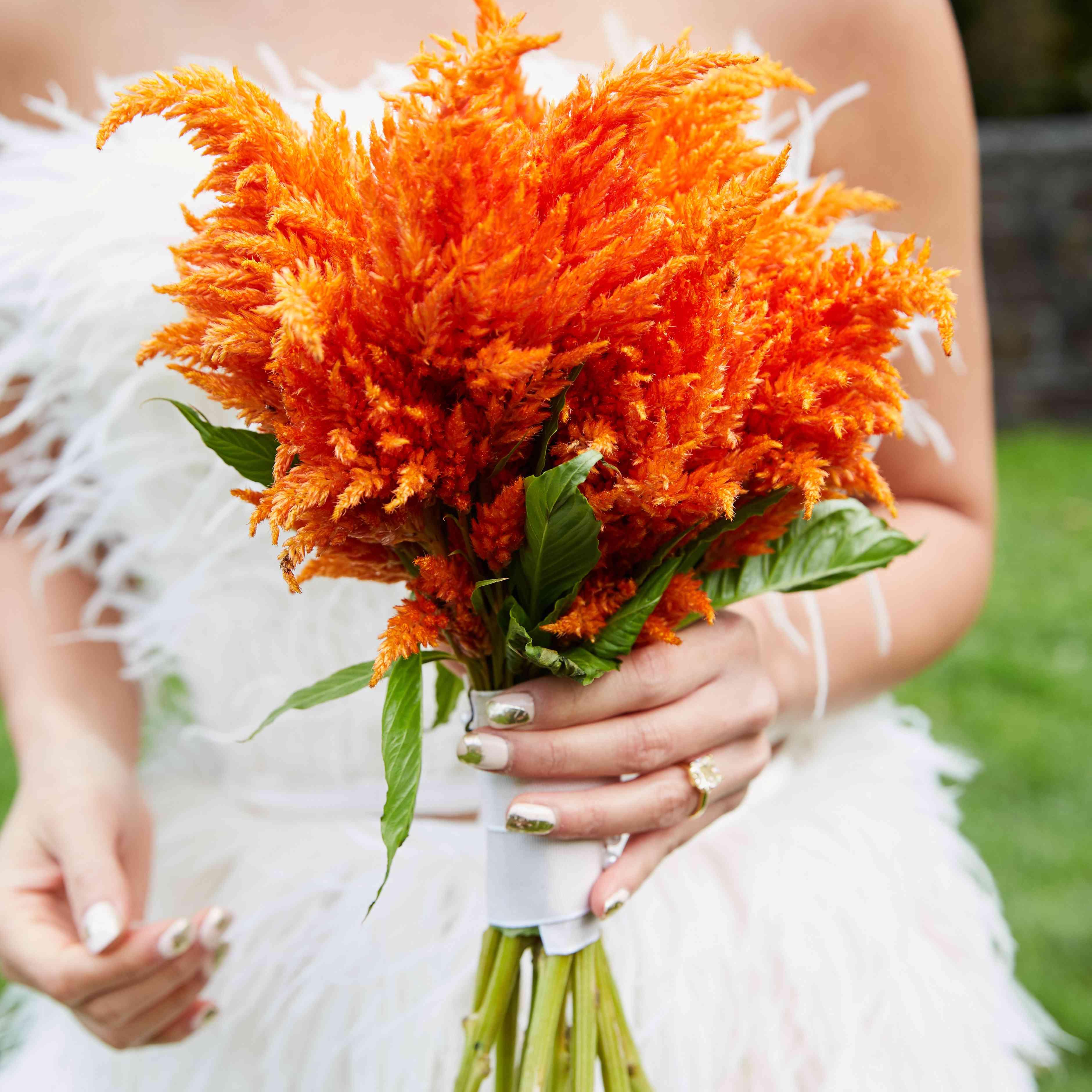 <p>orange bouquet</p><br><br>