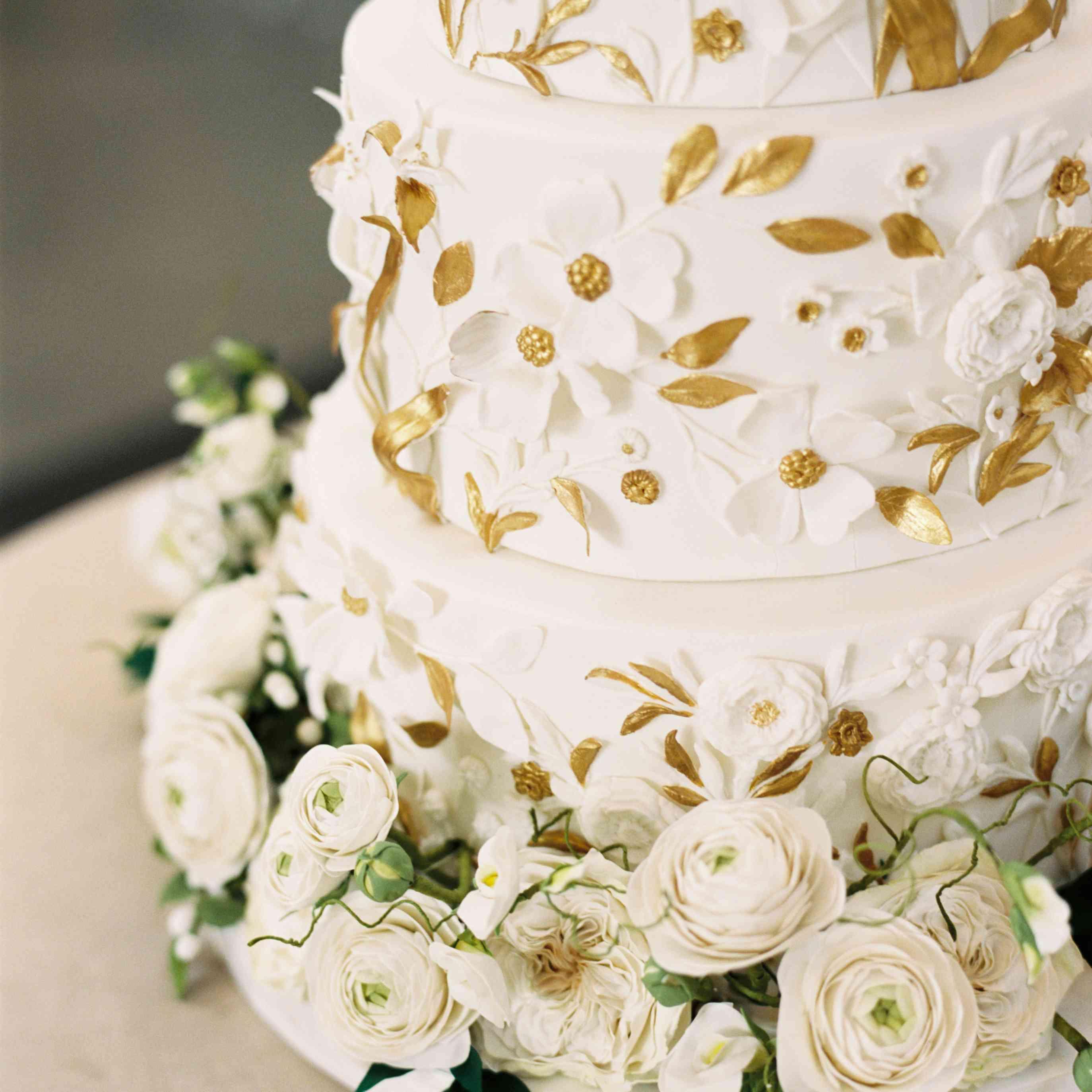 Wedding cake detail