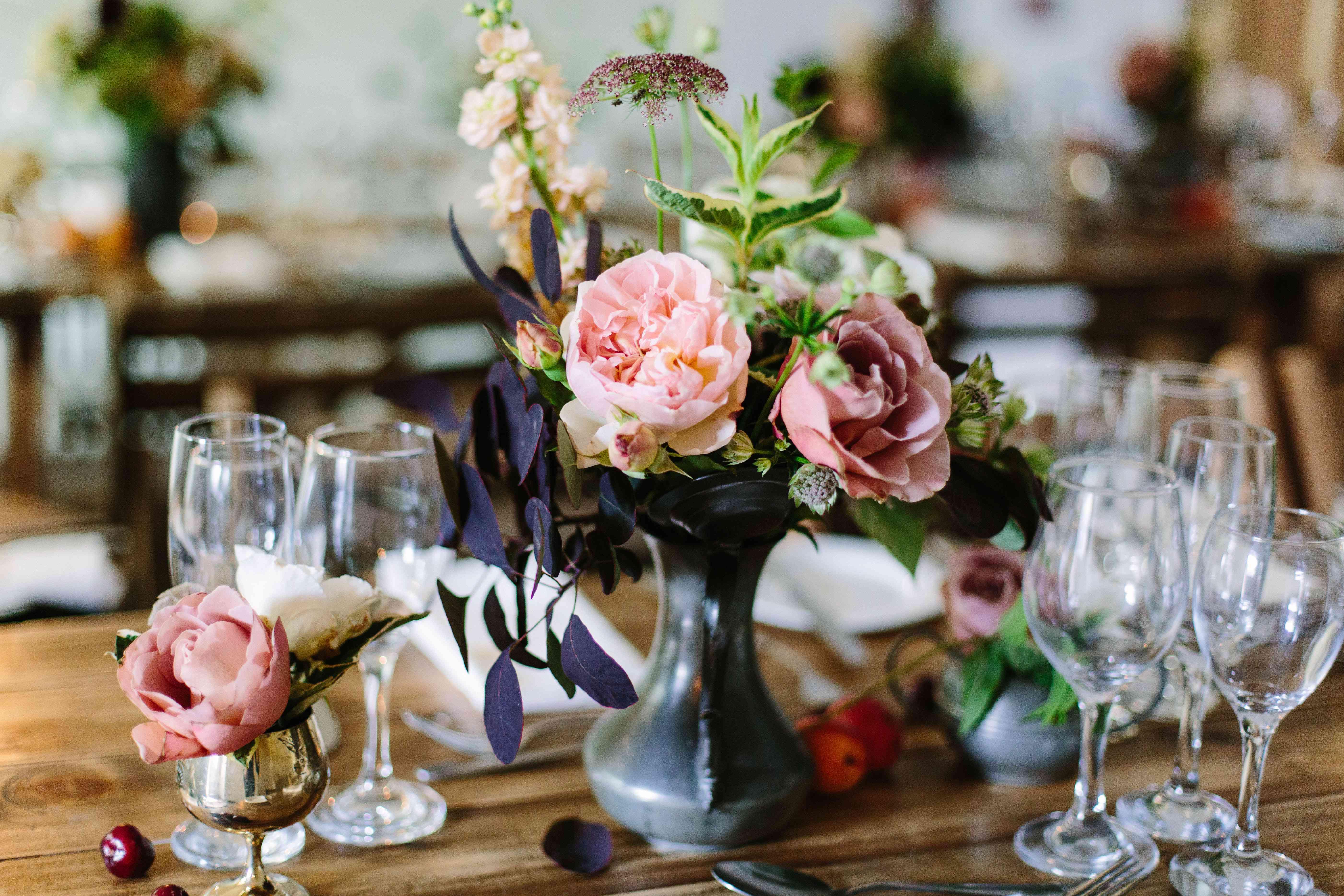 Flowers in Bud Vase