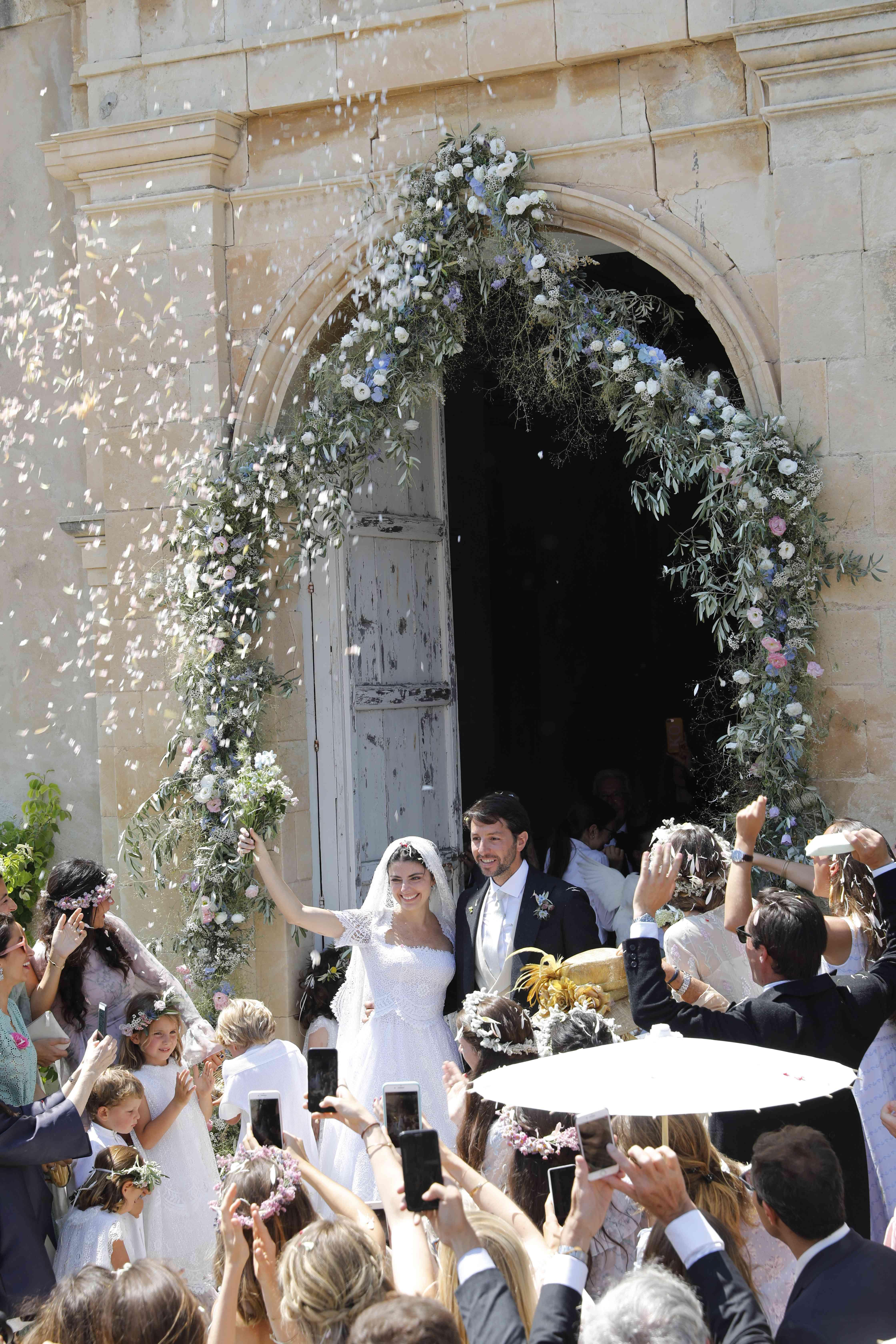 Lucilla Bonaccorsi Ceremony Exit