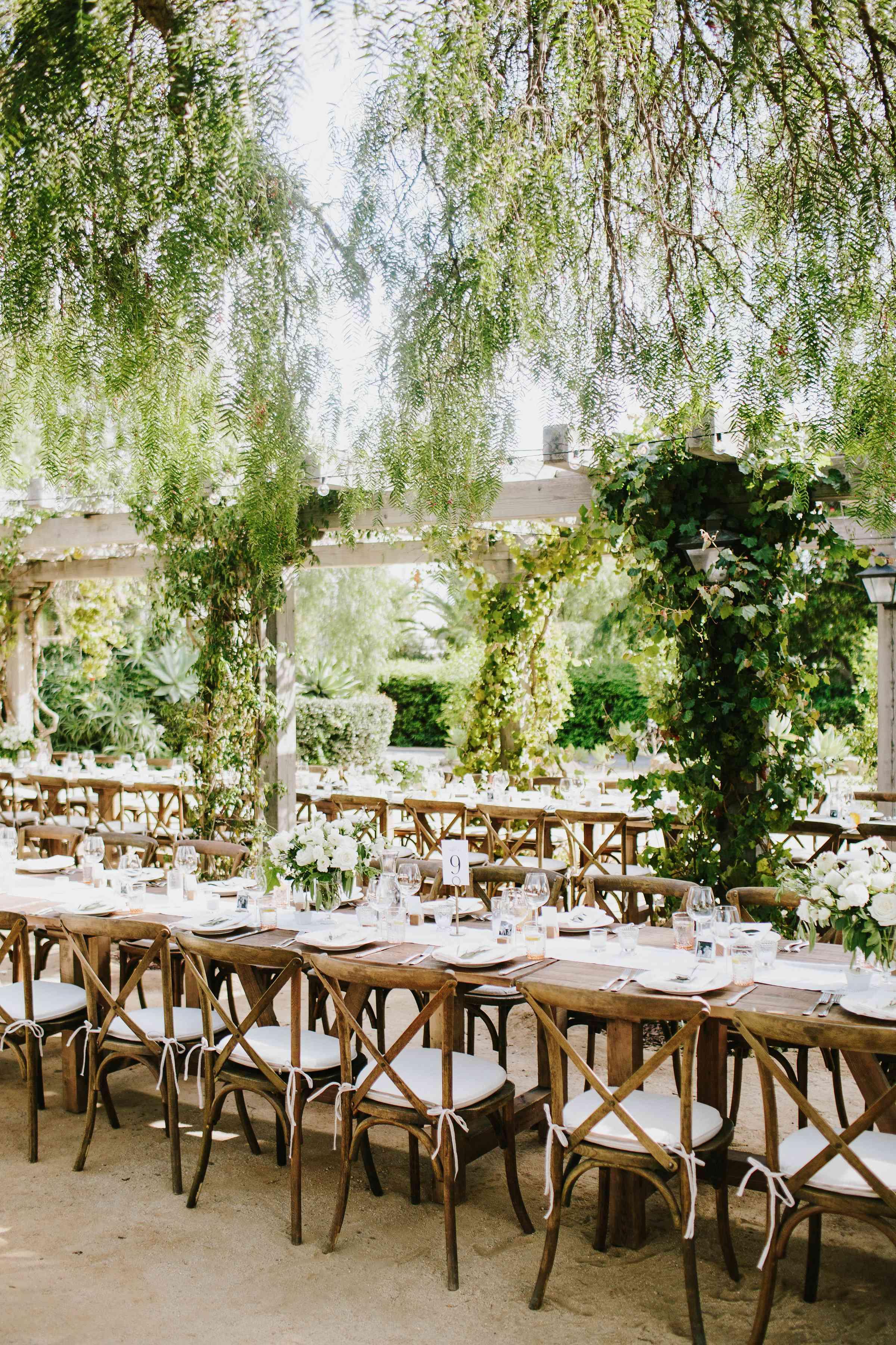 <p>long banquet reception tables</p><br><br>