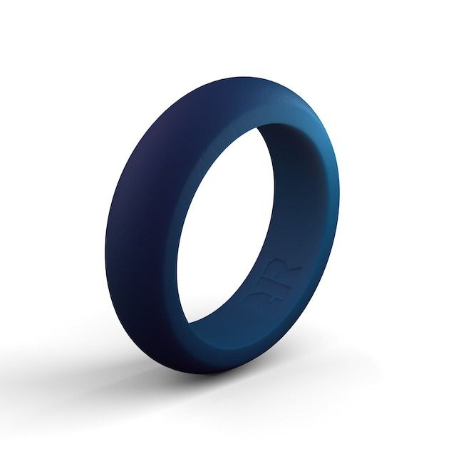Recon Women's Navy Blue Silicone Ring