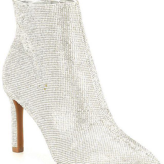 Gianni Bini Annina Rhinestone Embellished Dress Booties