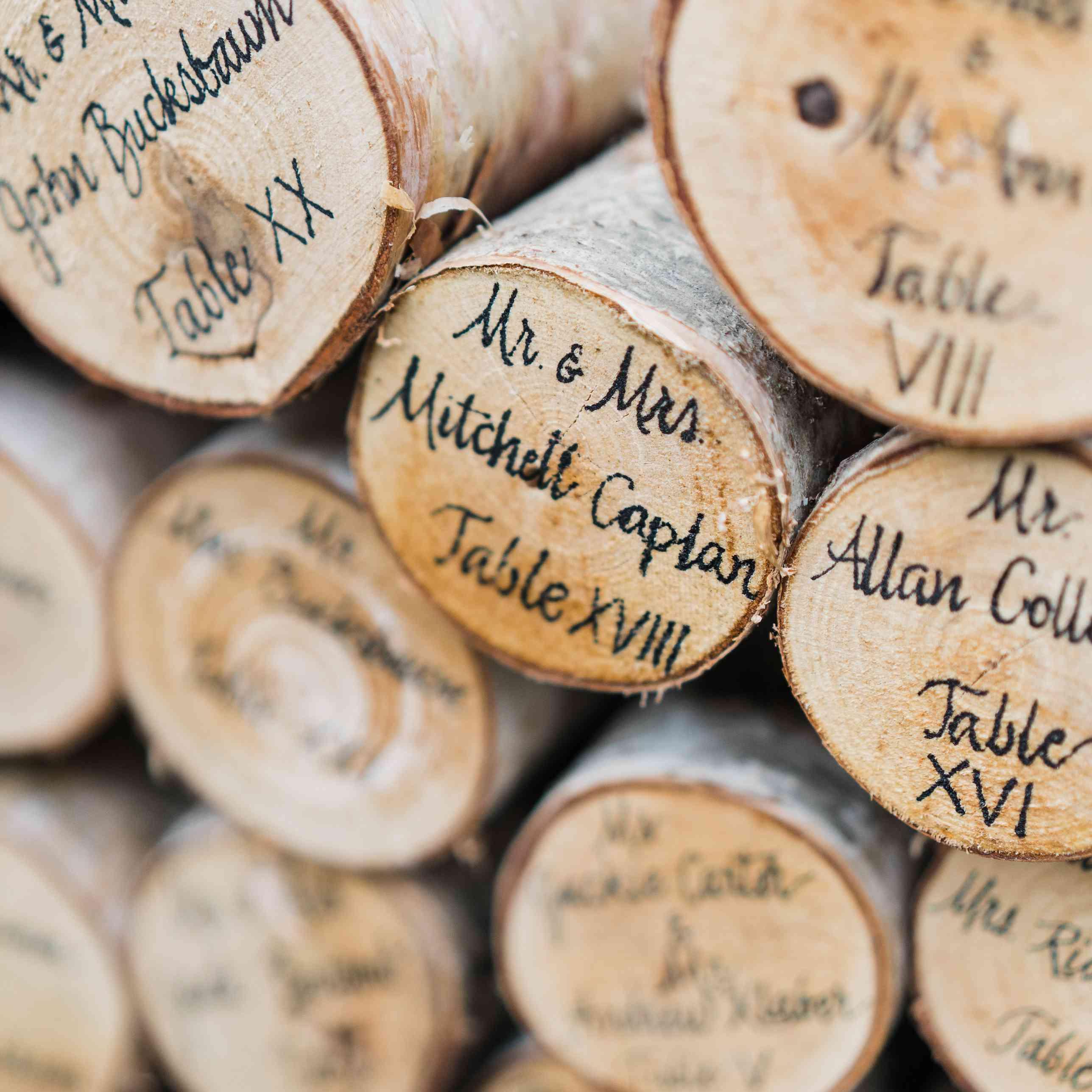 Fall Wedding Card Box Ideas: 11 Fall Wedding Escort Card Ideas