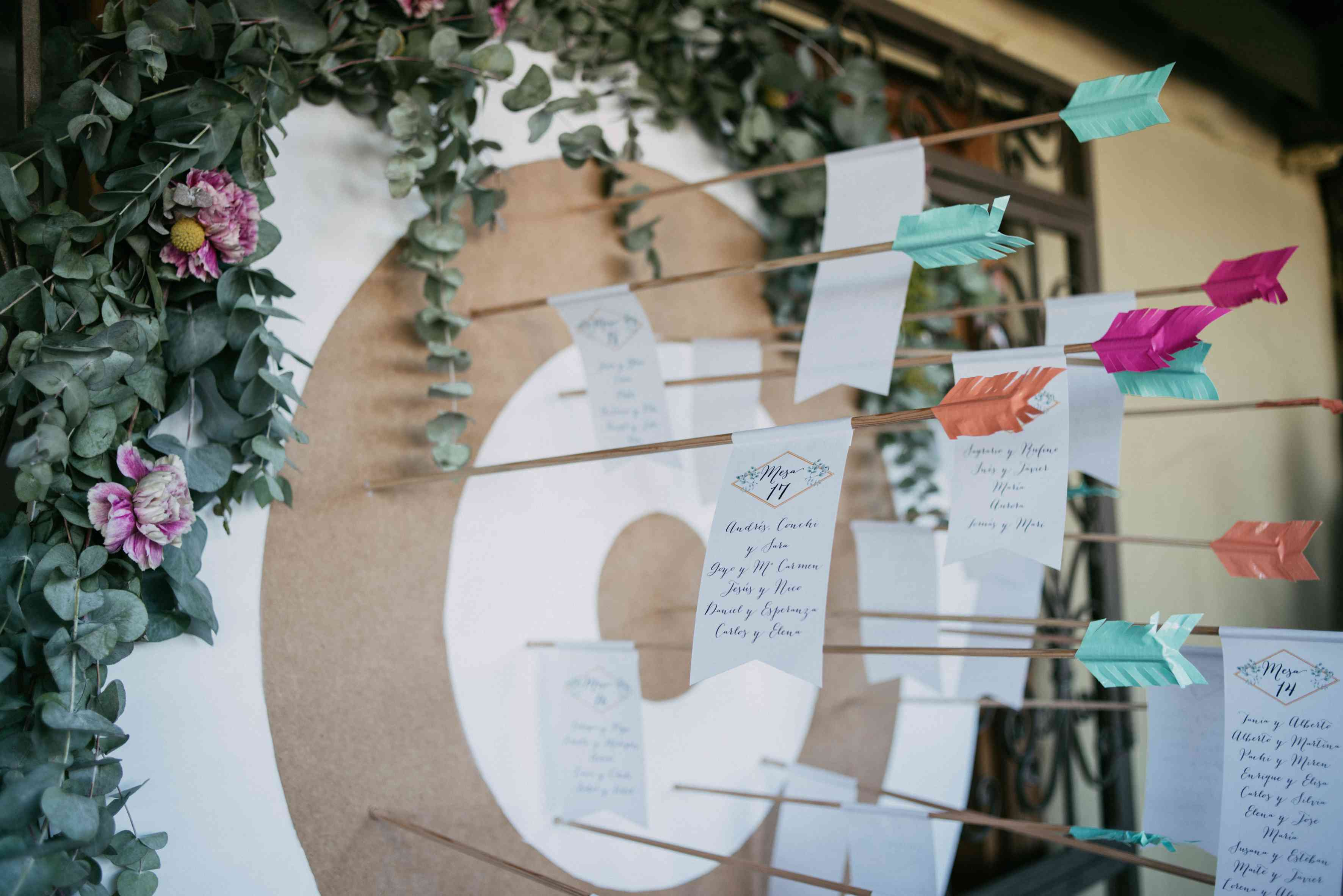 Wedding notes bullseye