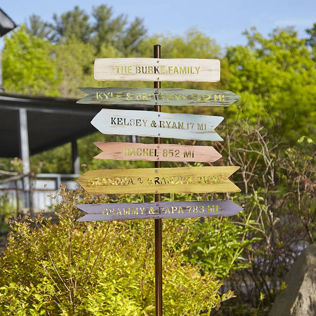 Chris Cooks Personalized Family Member Signpost