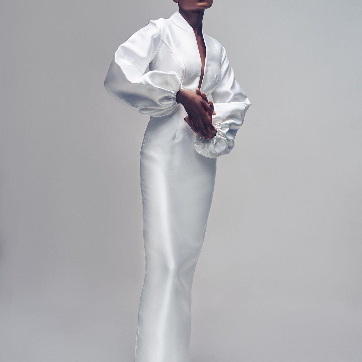 Imad Eduso Bridal Michelle Pencil Dress