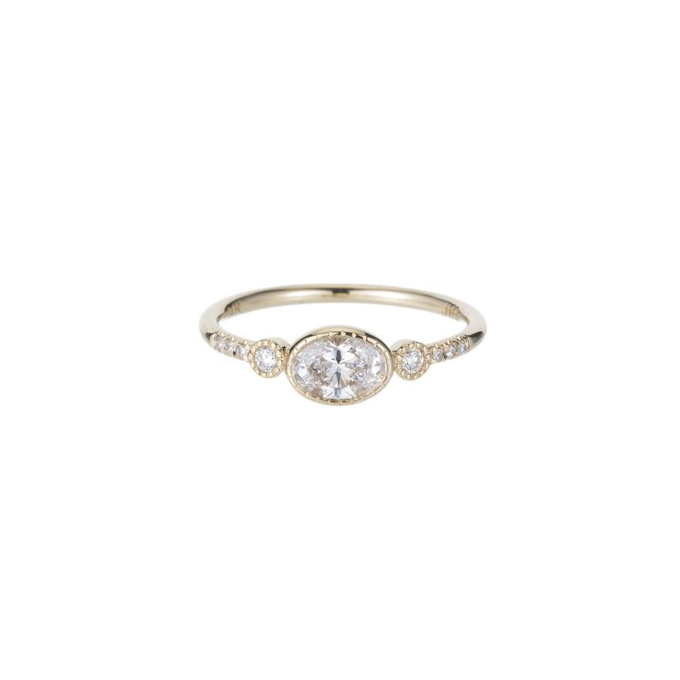 Jennie Kwon Diamond Reese Equilibrium Ring