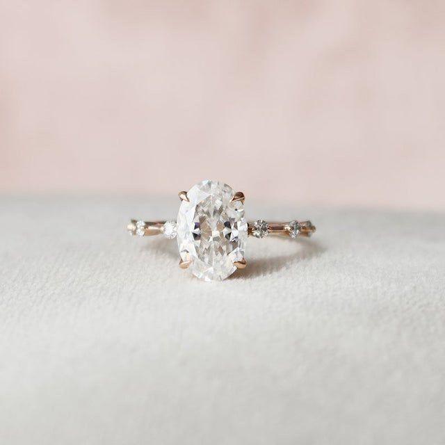 Keyzar Oval Engagement Ring