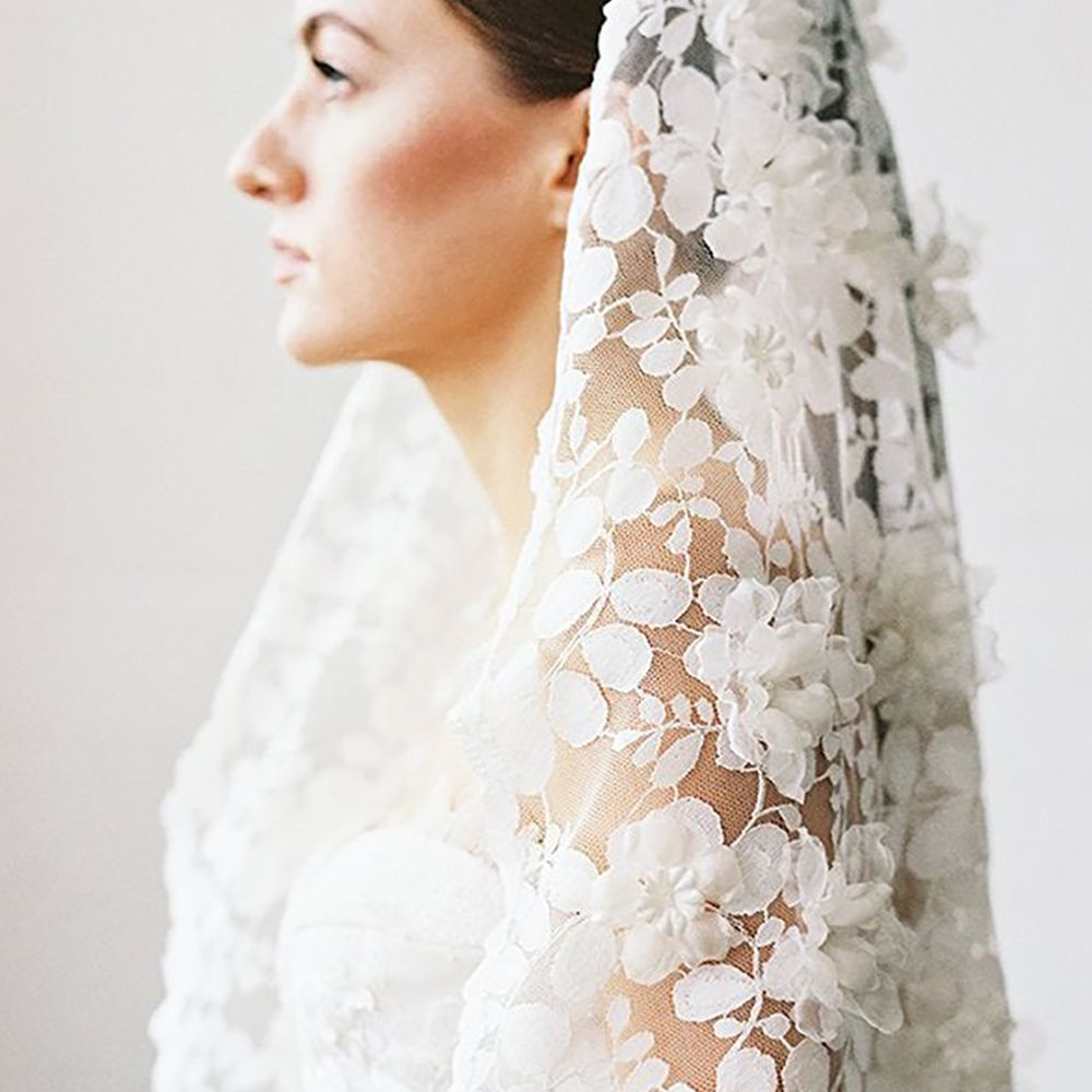 Lace white ivory soft veil bridal Veil Fingertip Elbow Cathedral Chapel length bridal veil Lace Bridal Veil Wedding Lace Wedding Veil