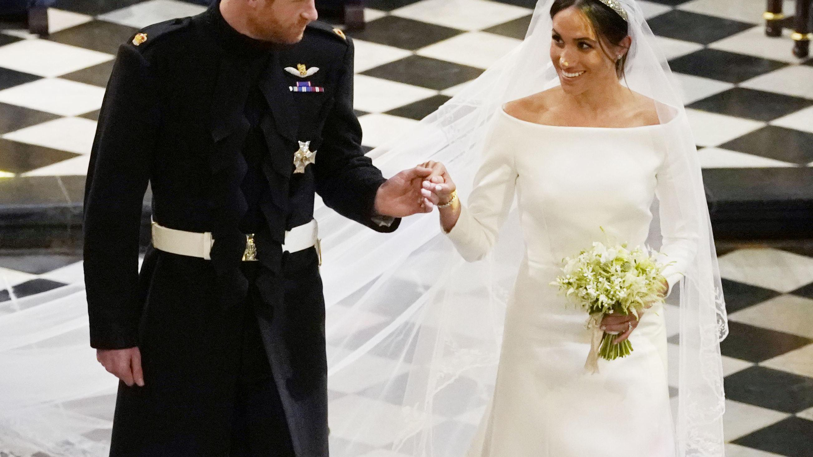 38 Royal Wedding Dresses Throughout History