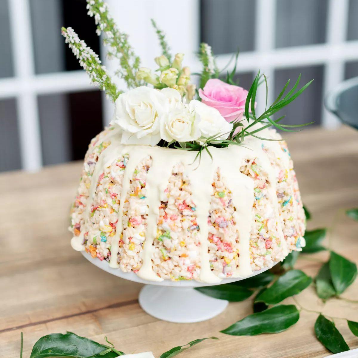 fruity pebbles cake