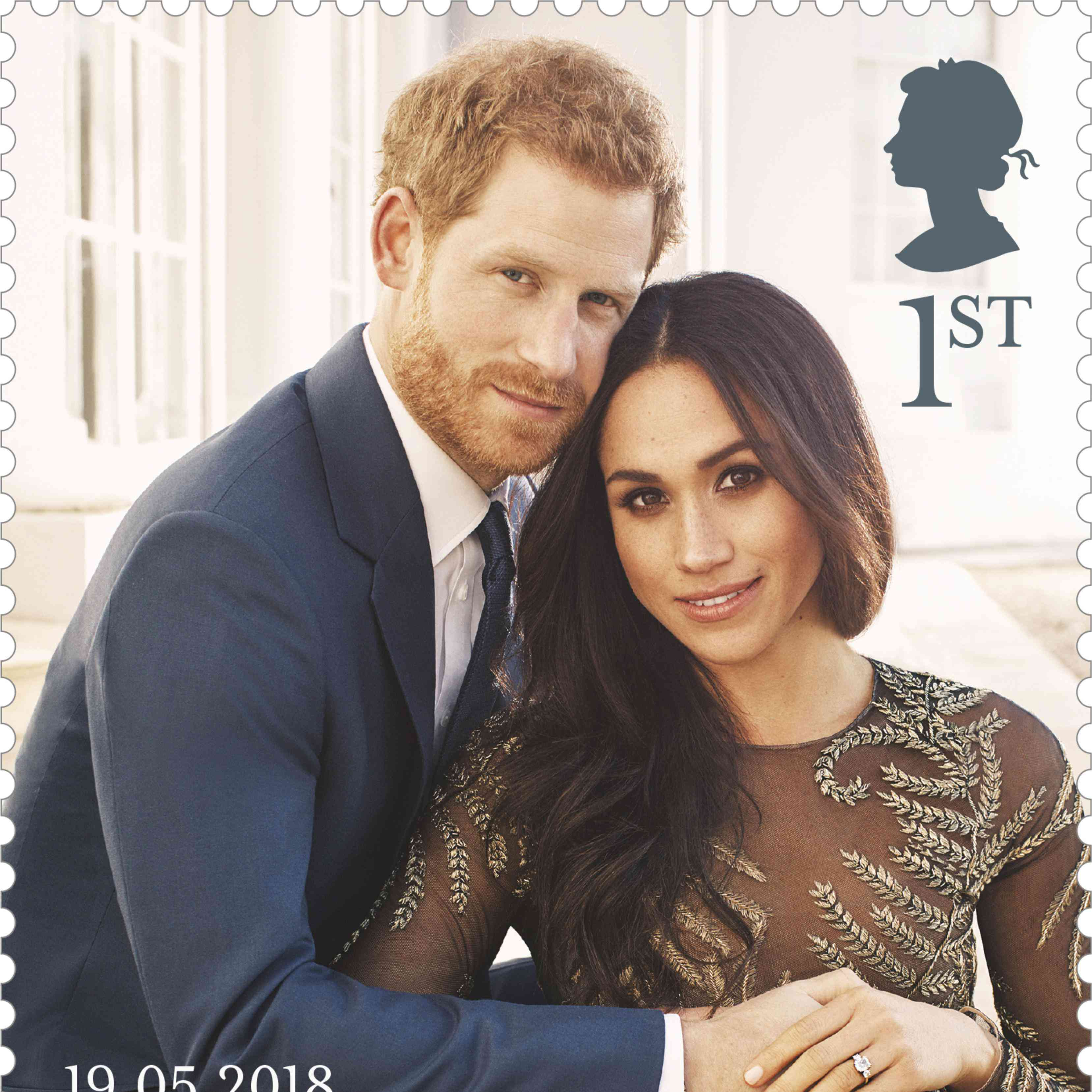 Megan And Harry Wedding.You Can Now Get Royal Wedding Stamps Featuring Megan Markle And