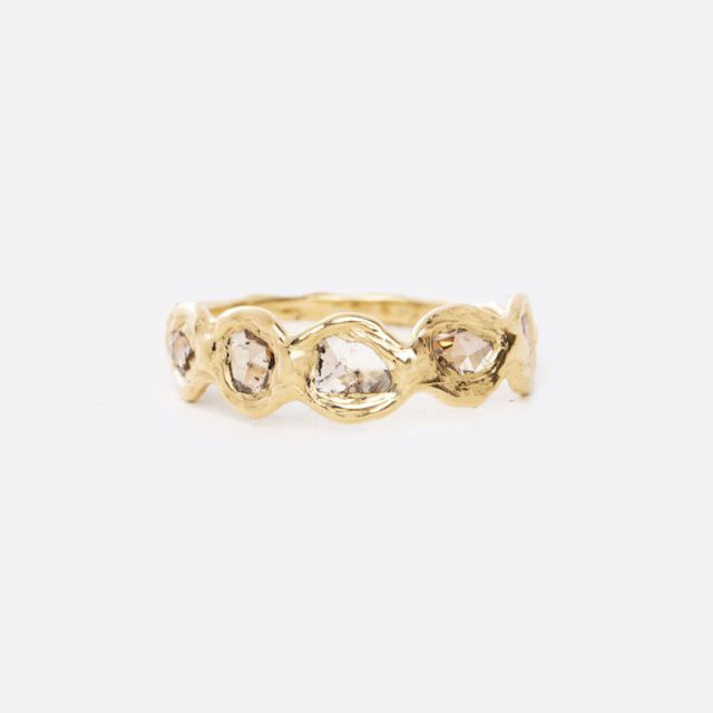 Emilie Shapiro Mirage Path Diamond Ring