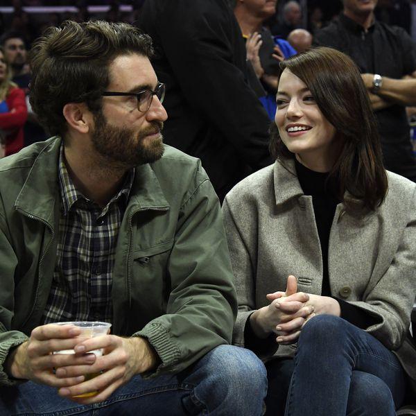 Emma Stone and Husband Dave McCary