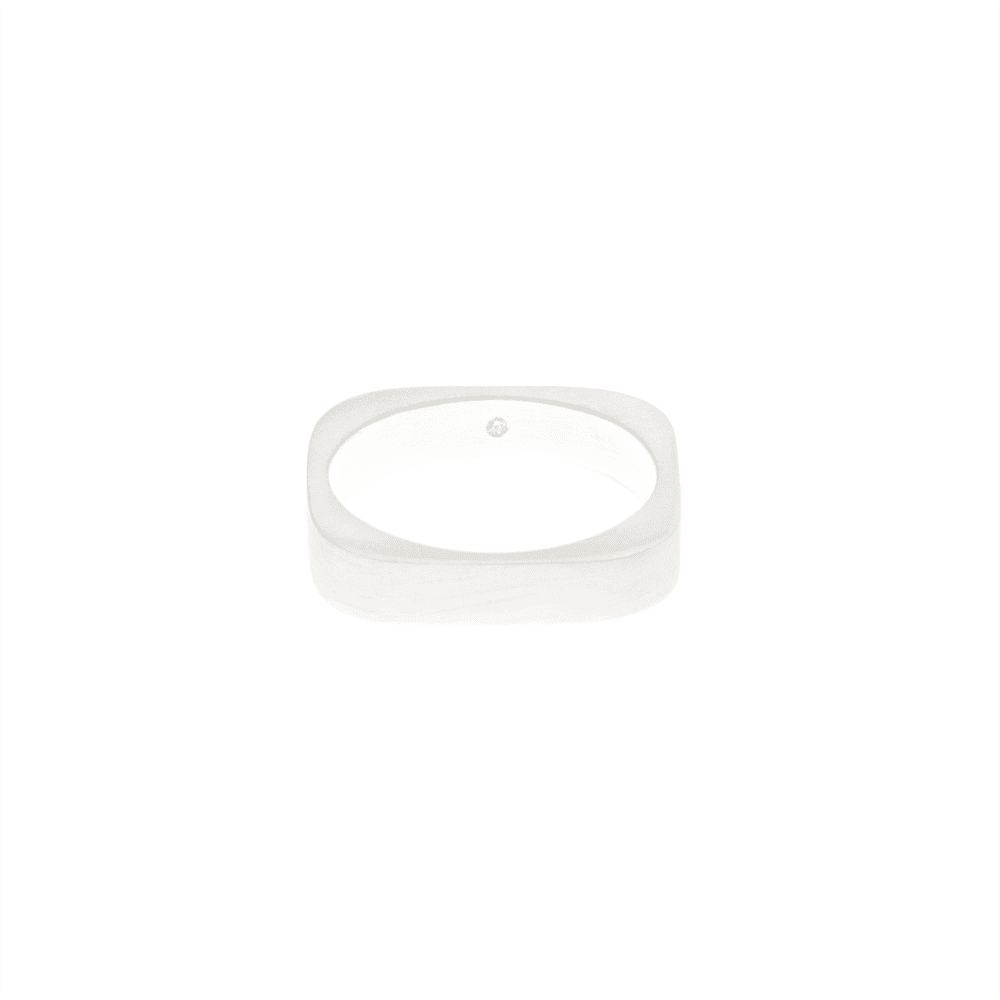 Otem White Gold Tetra Ring