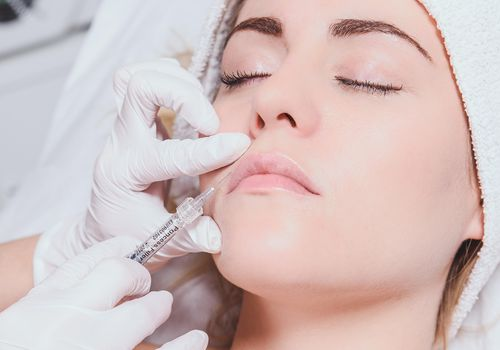 <p>Woman Getting Botox</p>