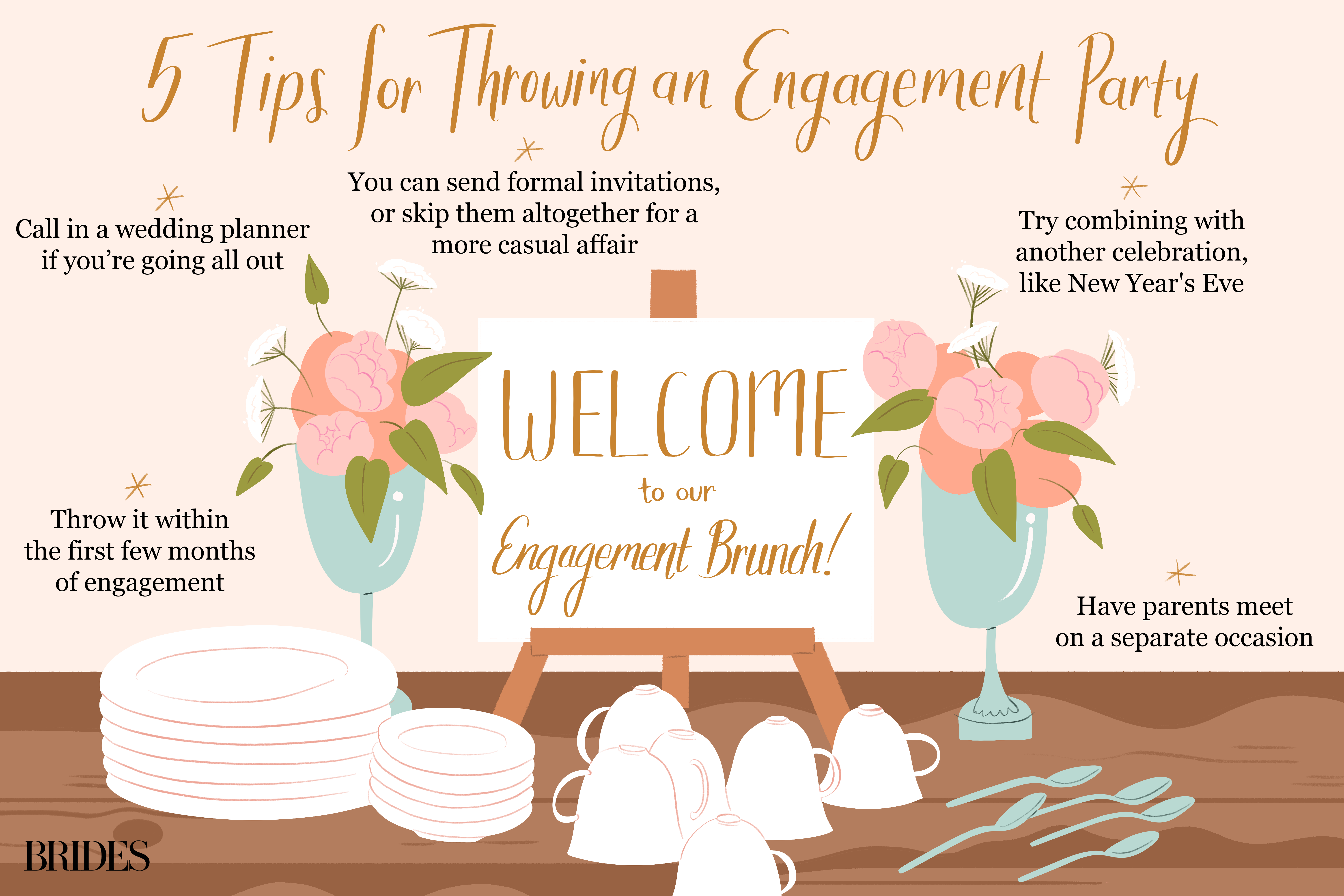5 Tips for Throwing an Engagement Party