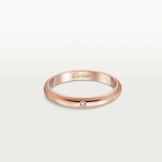 Cartier Rose Gold Band