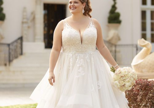 11 Best Wedding Dress Styles For Plus Sizes