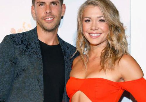 Chris Randone and Krystal Nielson attend the Silent Pool Gin Launch Party at Tom Tom in West Hollywood, California.