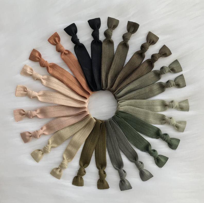 Mercedezbands no crease elastic hair tie