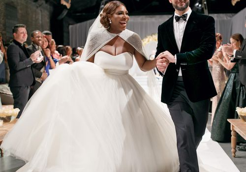 Serena Williams and Alexis Ohanian's Wedding Ceremony