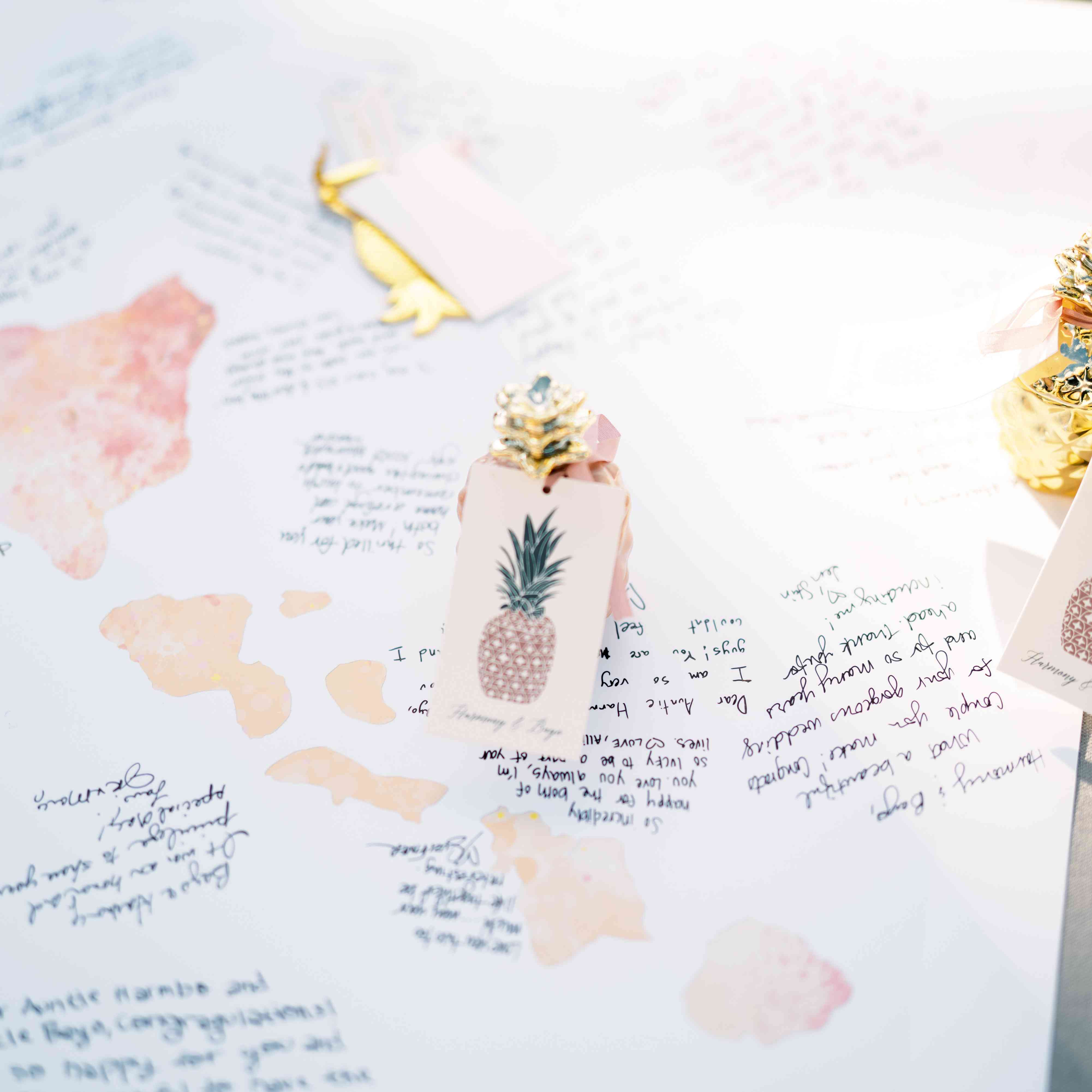 map guest book