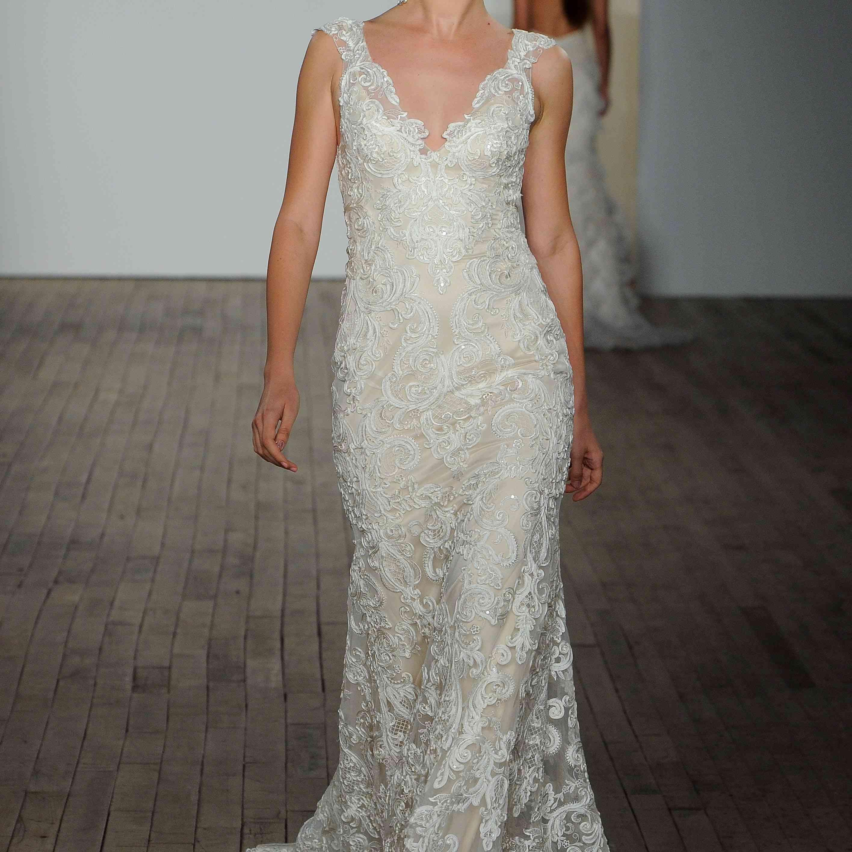 Lucia wedding dress lazaro