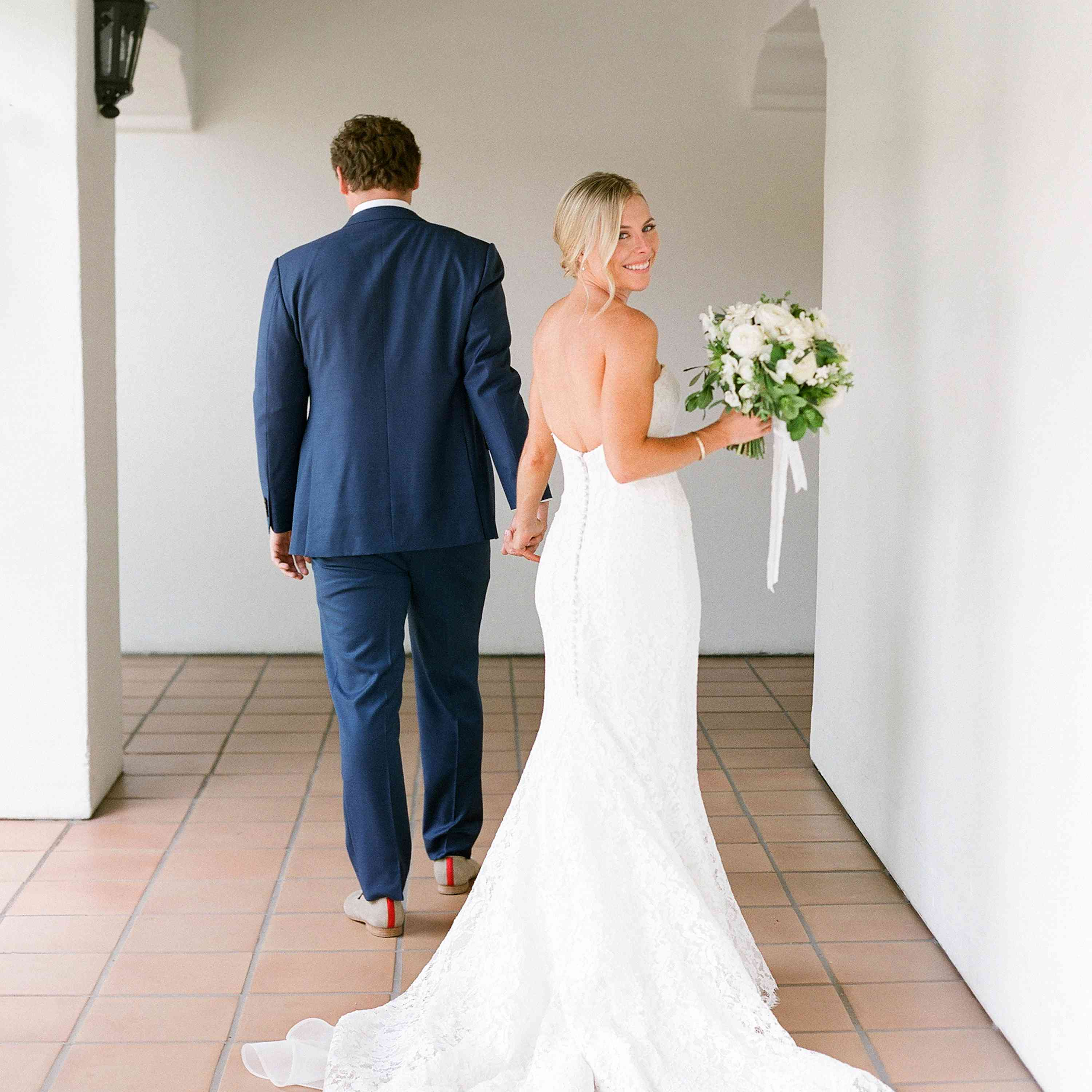 bride and groom in Ojai