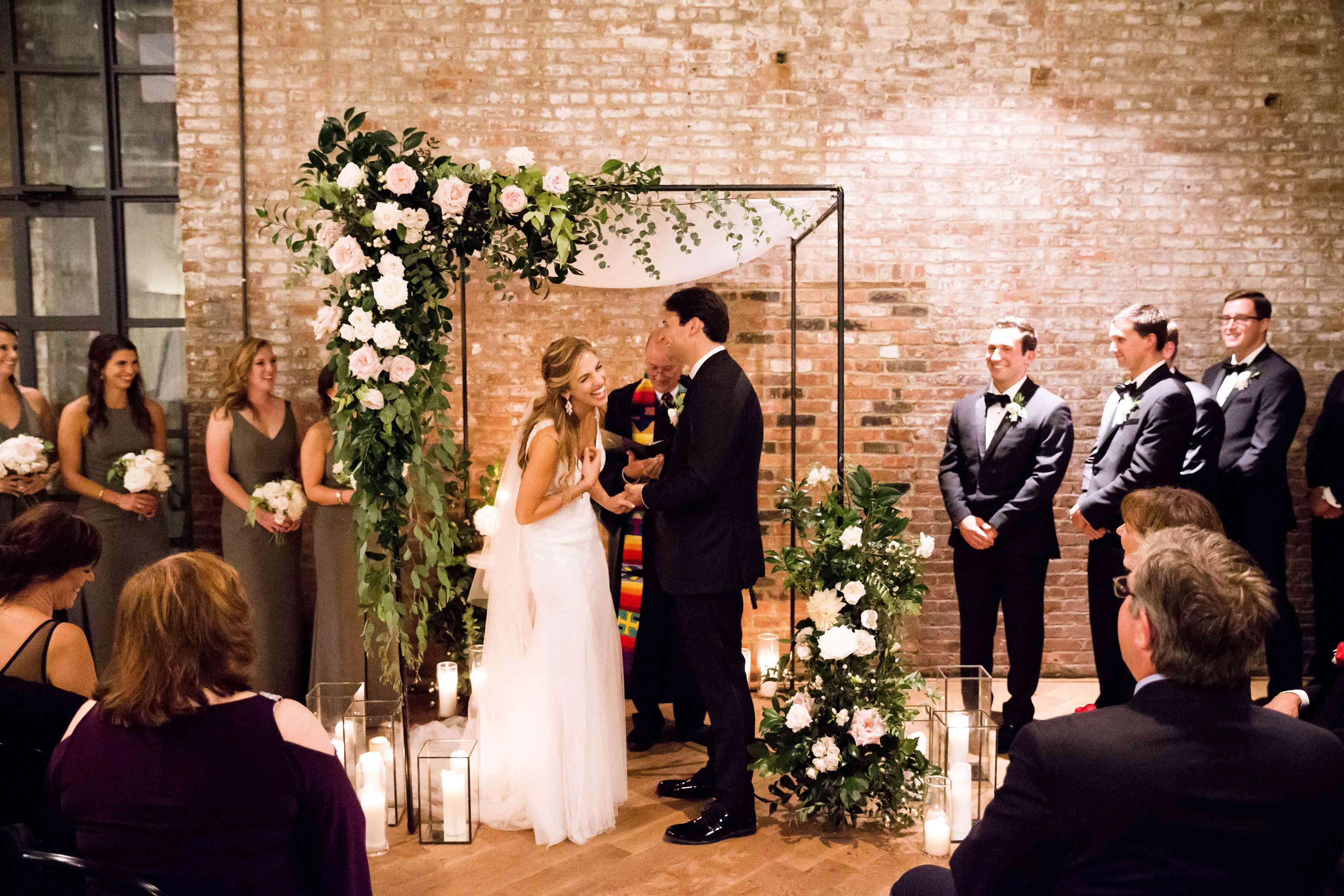 Jewish nuptial ceremony