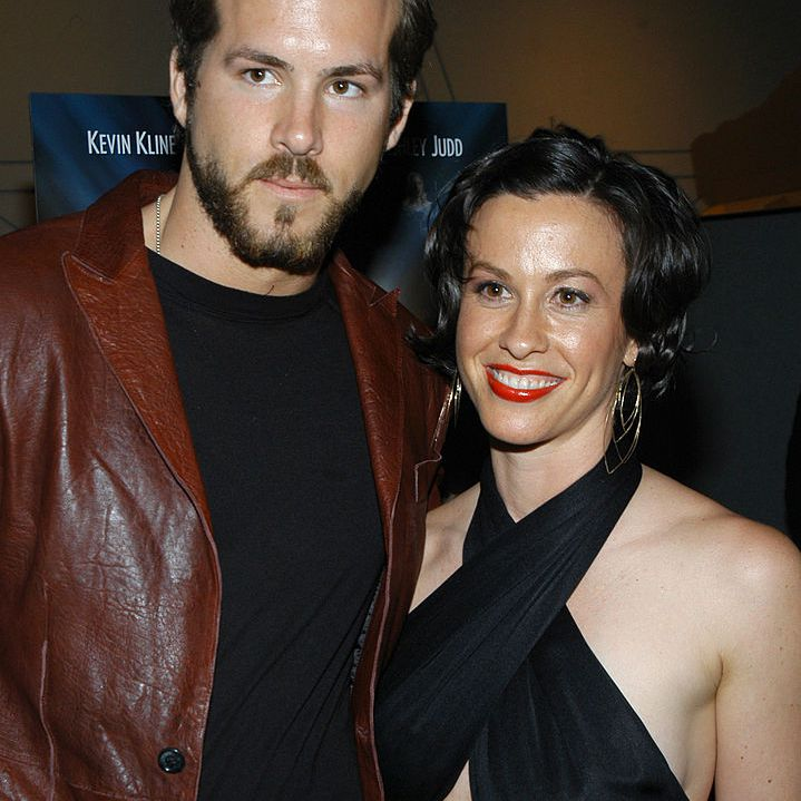 Ryan Reynolds and Alanis Morissette during