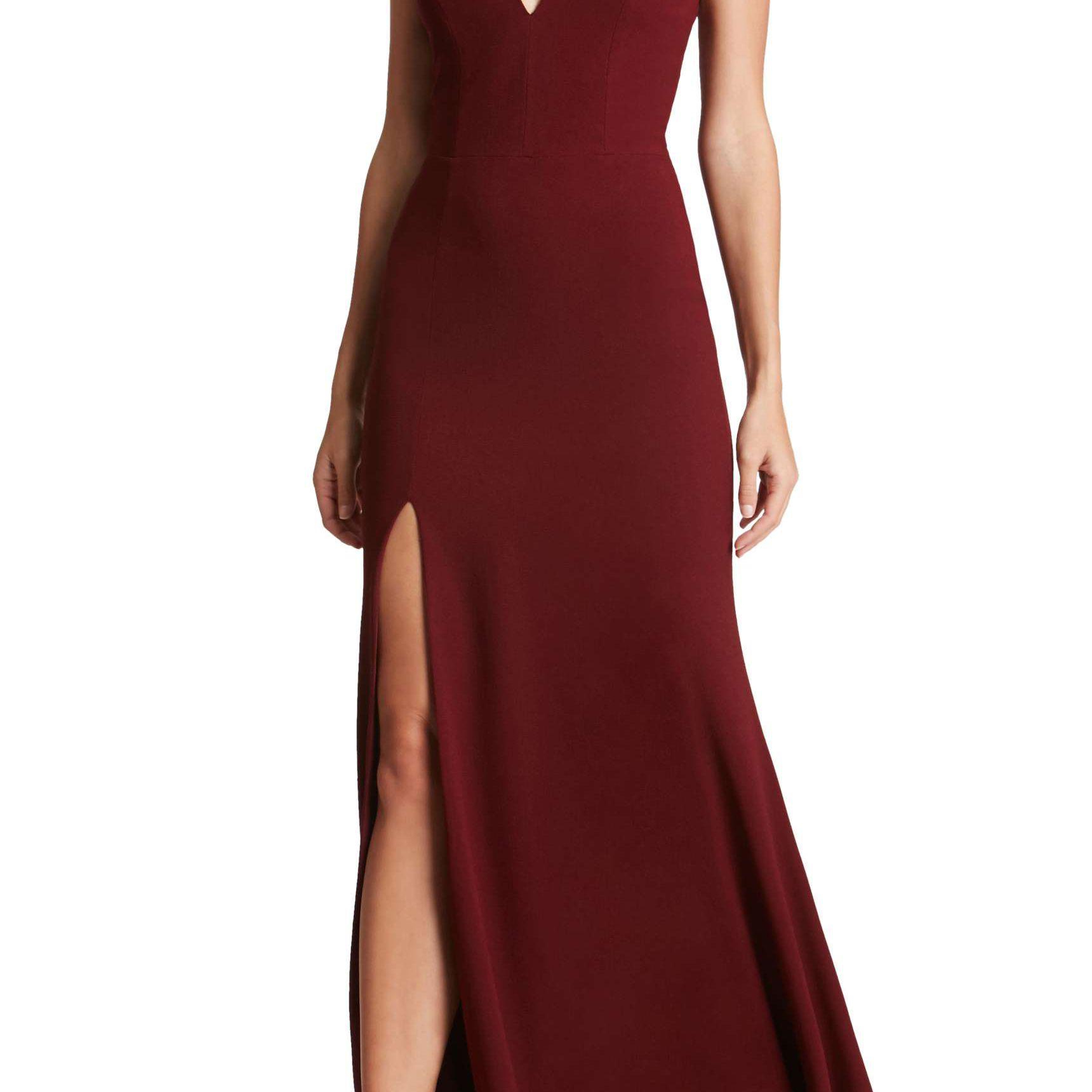 23 Burgundy Bridesmaid Dresses Perfect For A Fall Wedding