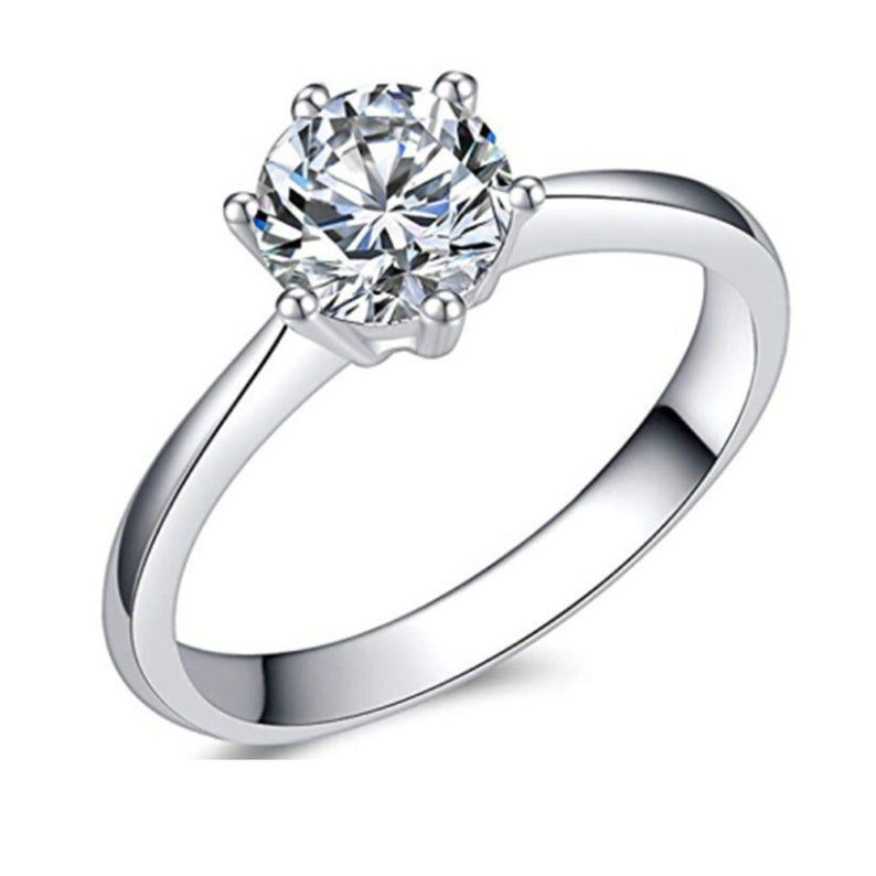 Personalized Quality Stainless Steel Engagement Ring