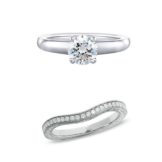 How To Pick A Wedding Band That Works With Your Engagement Ring