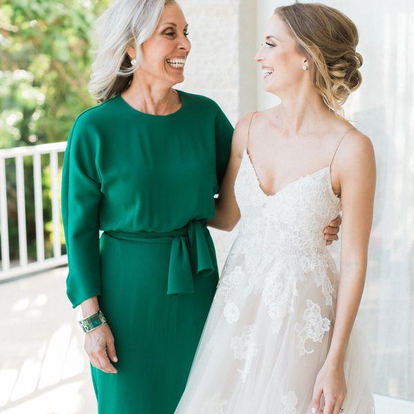 Mother Wear A Long Dress To My Wedding