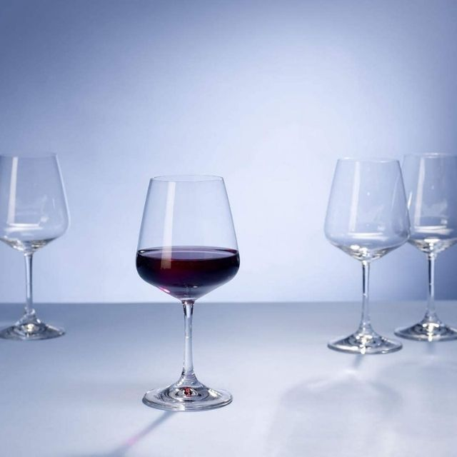 Villeroy and Boch Ovid Red Wine Glass, Set of 4