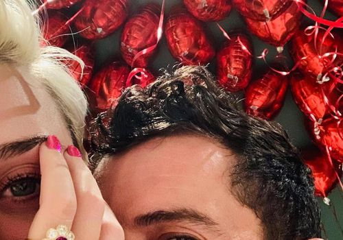 Orlando Bloom and Katy Perry engagement ring