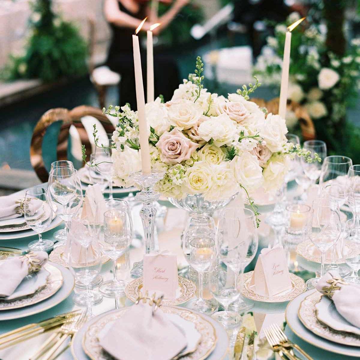 spring wedding floral centerpieces