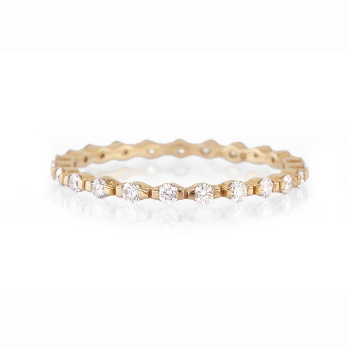 Yi Collection Diamond Micro Pavé Infinite Ring